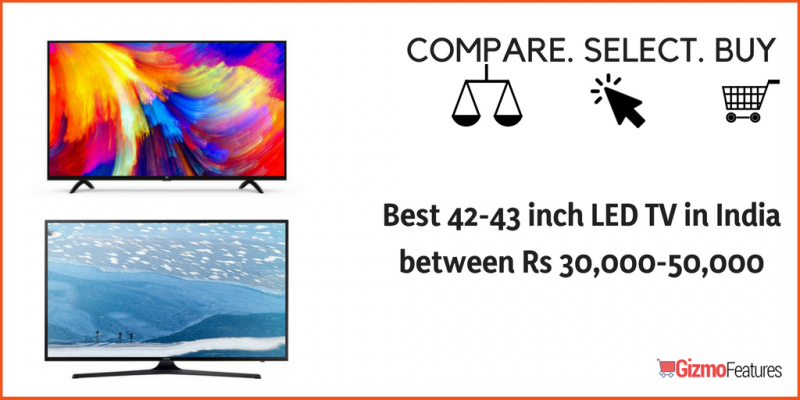 Best-42-43-inch-LED-TV-in-India-between-Rs-30000-50000