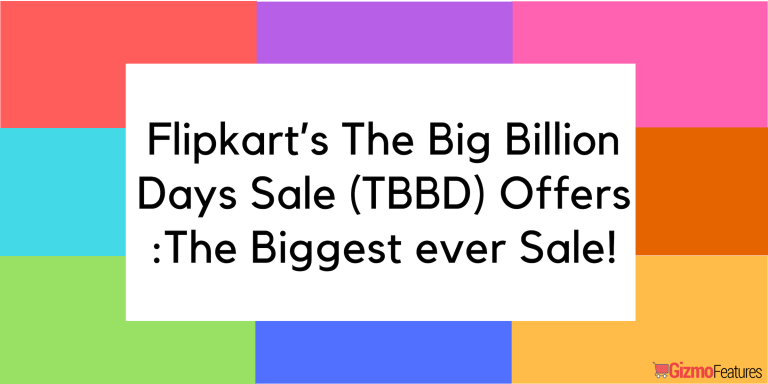 Top Deals and Offers on Flipkart Big Billion Day Sale Today