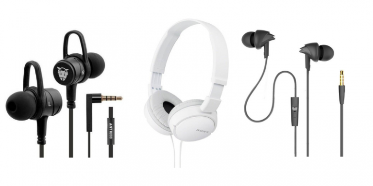 Best Headphones Under 500 Rupees in India | Aug 2019 | Gizmofeatures