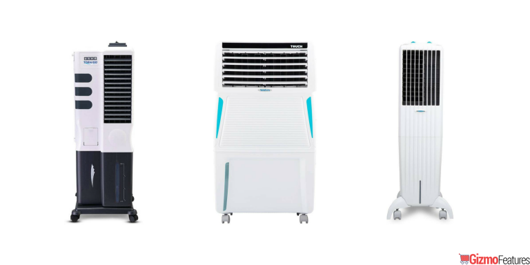 Best Tower Air Cooler to Buy in India | Aug 2019 | Gizmofeatures