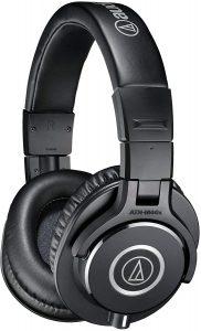 Audio-Technica-ATH-M40X-Professional-Studio-Monitor-Over-ear-Headphones