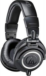 Audio-Technica-ATH-M50x-Over-Ear-Professional-Studio-Monitor-Headphones